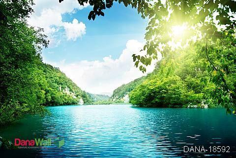 tranh hồ nước