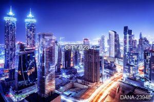 tranh 3d cảnh thành phố