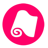icon pink material