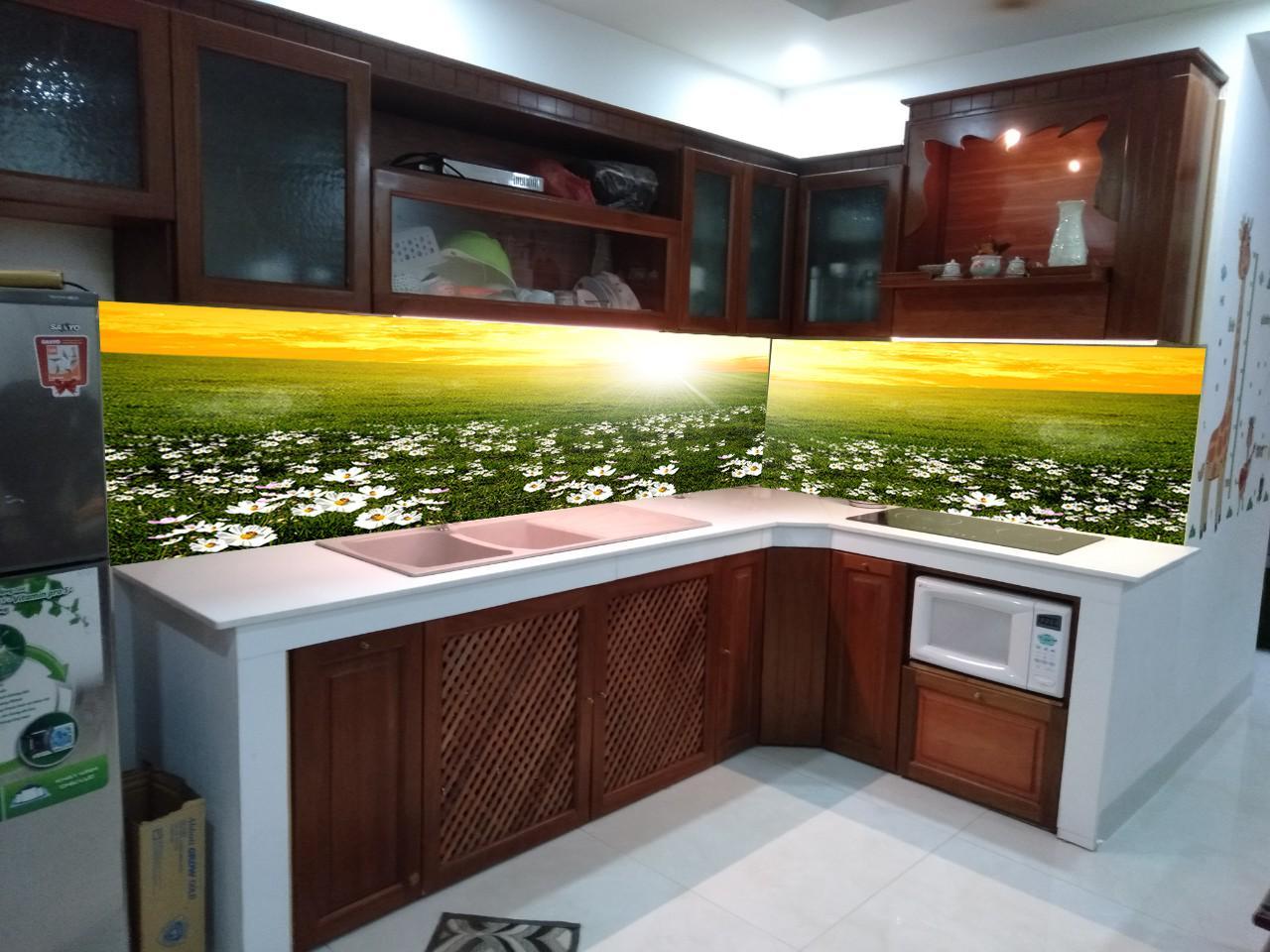 Tranh Kính Ốp Bếp KB0001