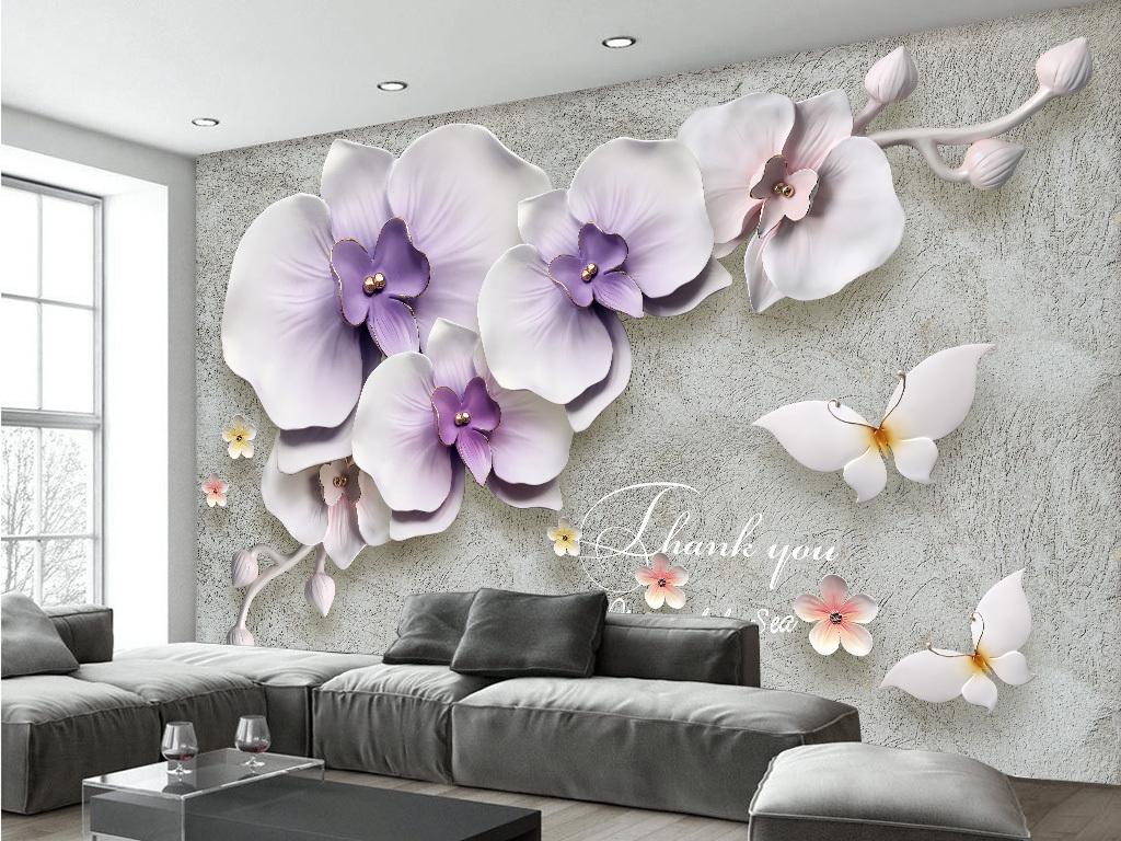 Tranh Dán Tường 3D Phòng Khách 16355661