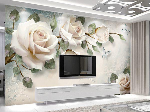 Tranh Dán Tường 3D Phòng Khách 16674719