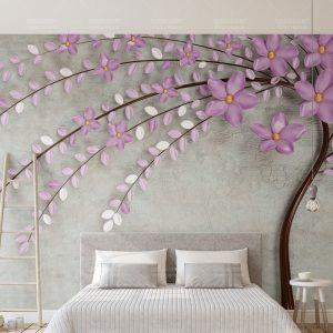 Tranh Dán Tường 3D Phòng Ngủ 17421729