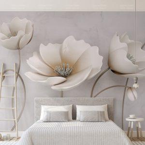 Tranh Dán Tường 3D Phòng Ngủ 17447447