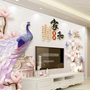 Tranh Dán Tường 3D Phòng Khách 17483298