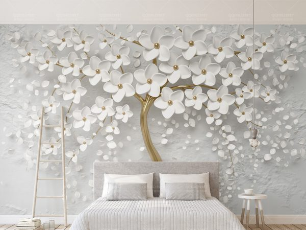 Tranh Dán Tường 3D Phòng Ngủ 18449203