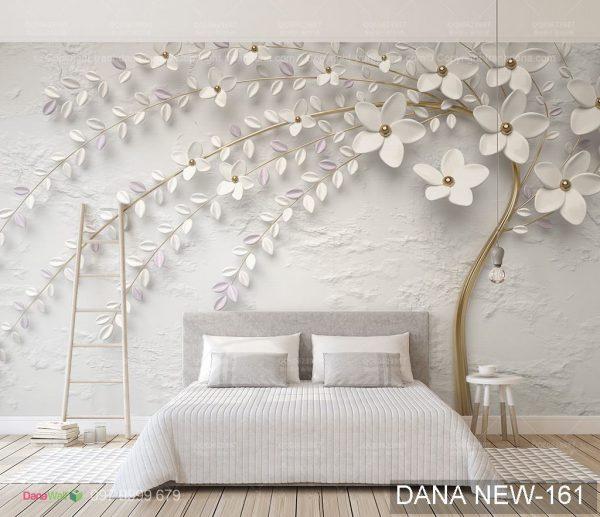 Tranh Dán Tường 3D Phòng Ngủ 18699010