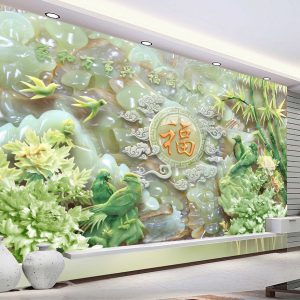 Tranh Dán Tường 3D Phòng Khách 19000401