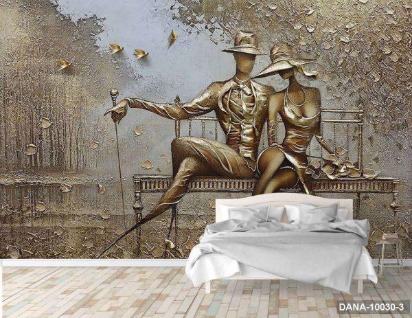 Tranh Dán Tường 3D Phòng Ngủ DANA-10030