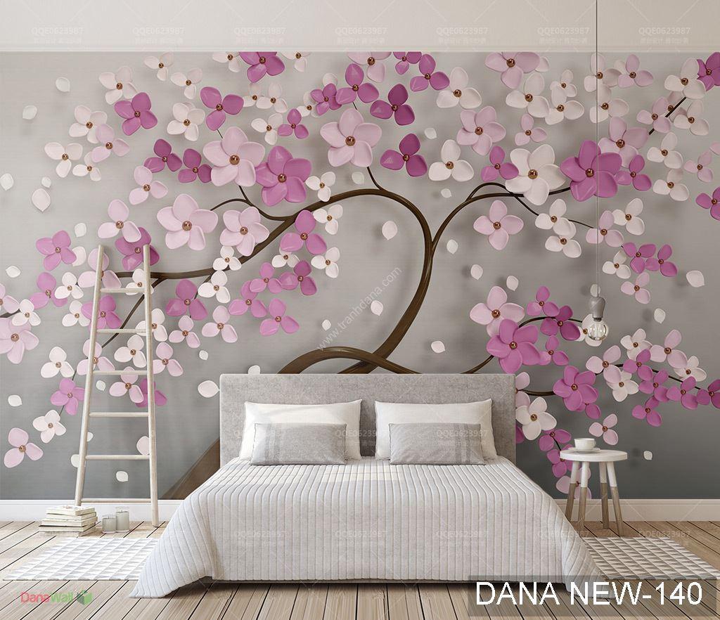 Tranh Dán Tường 3D Phòng Ngủ DANA-140