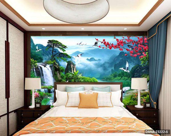 Tranh Dán Tường 3D Phòng Ngủ DANA-23222