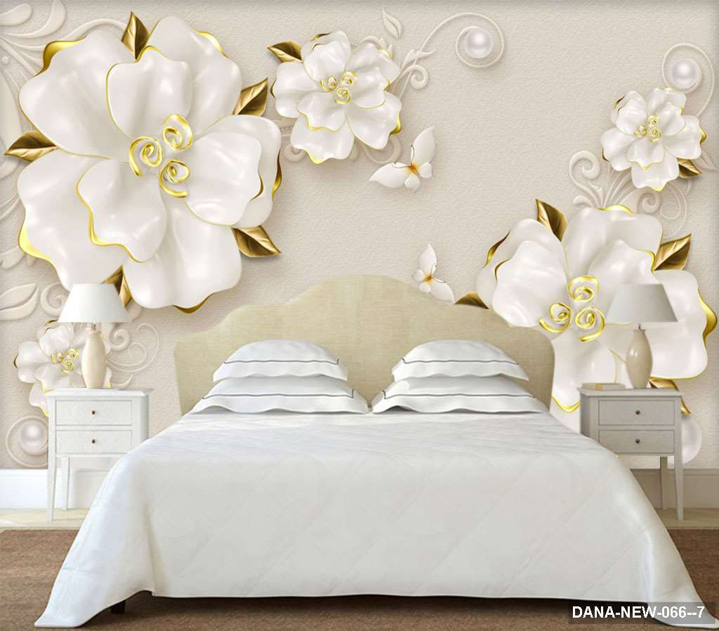 Tranh Dán Tường 3D Phòng Ngủ DANA-066