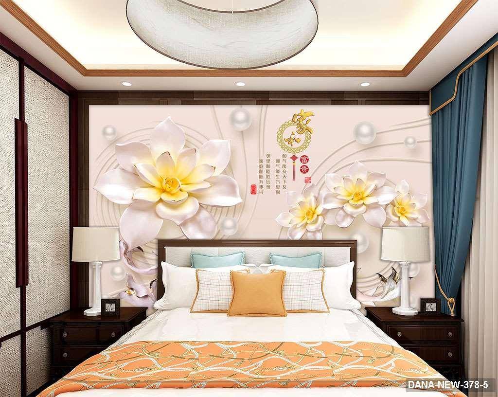 Tranh Dán Tường 3D Phòng Ngủ DANA-378