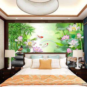 Tranh Dán Tường 3D Phòng Ngủ DANA10124