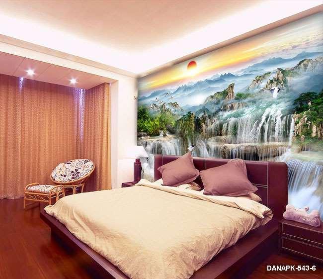 Tranh Dán Tường 3D Phòng Ngủ DANAPK-543