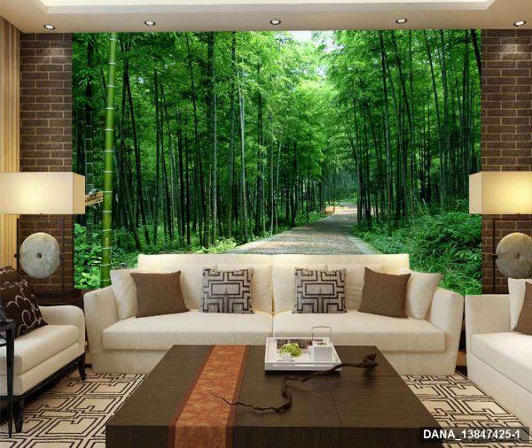 Tranh Dán Tường 3D Phòng Khách 13847425