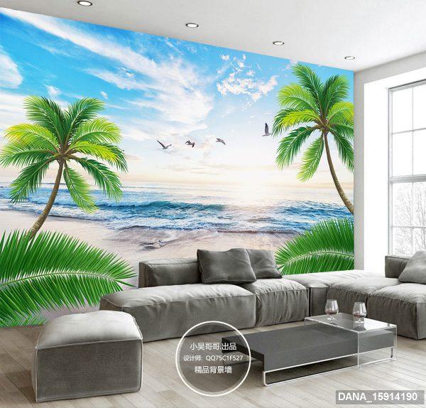 Tranh Dán Tường 3D Phòng Khách 15914190