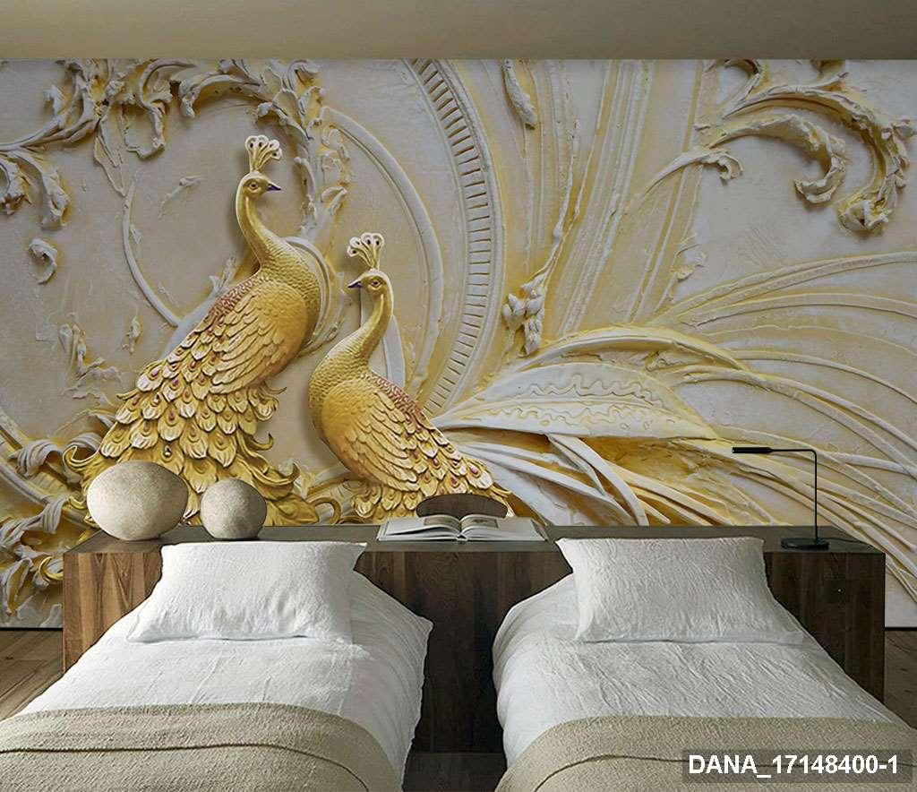 Tranh Dán Tường 3D Phòng Ngủ 17148400
