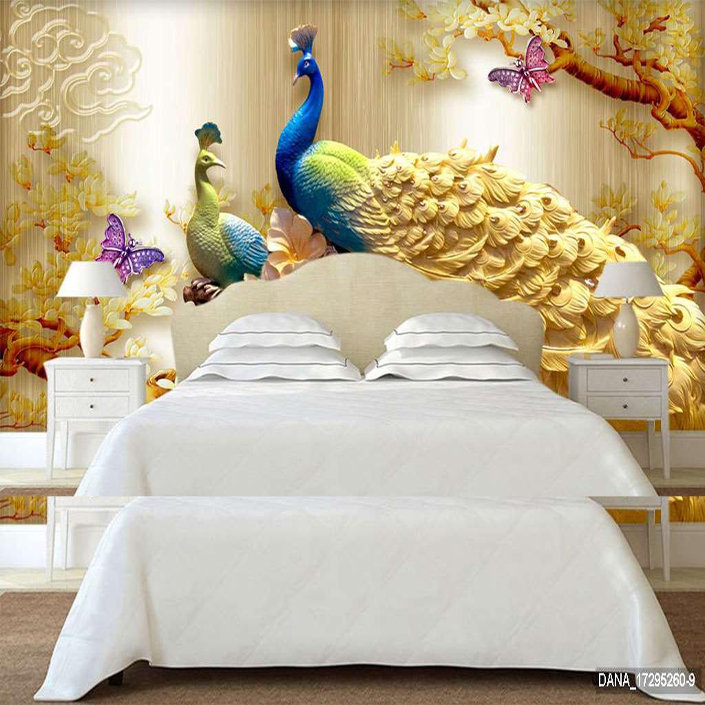 Tranh Dán Tường 3D Phòng Ngủ 17295260