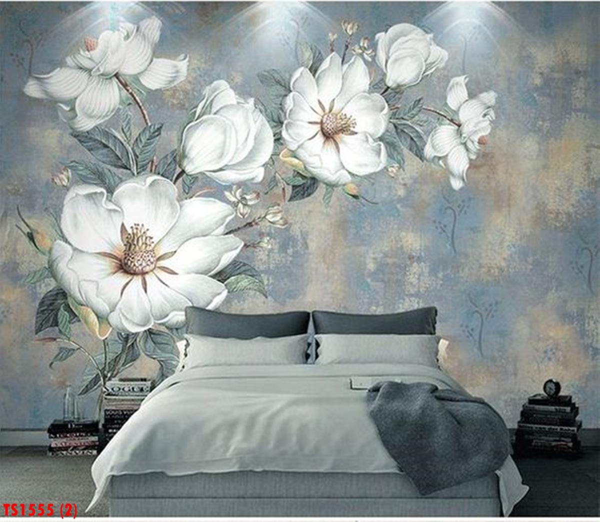 Tranh Dán Tường 3D Phòng Ngủ TS1555